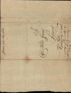 Invoice and letters from Frans. Minot and William Sader, P 2