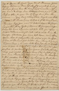 Letter Boston 12th January 1760 P 2