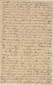 Letter Boston 12th January 1760 P 3