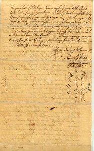 Correspondence Mid-voyage to Captain Peter Gwinn, P 2